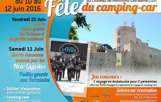 organisation salon professionnel camping-cars près St Etienne