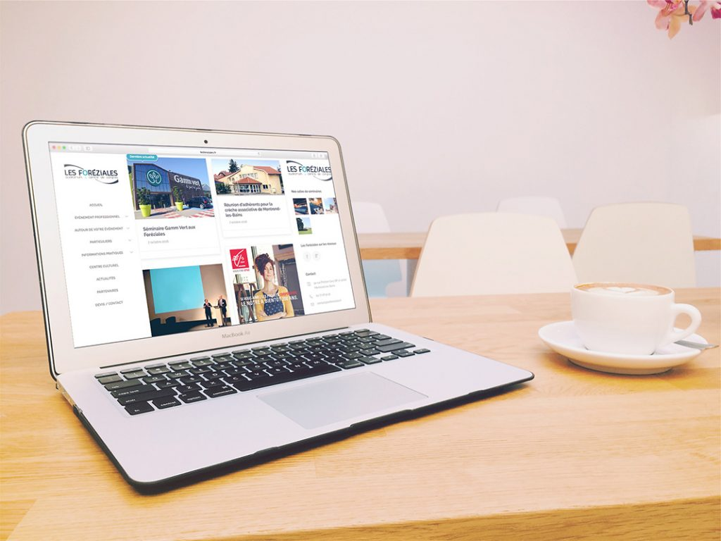 Les Foréziales et l'Agence de communication Akinai collaborent sur le Web