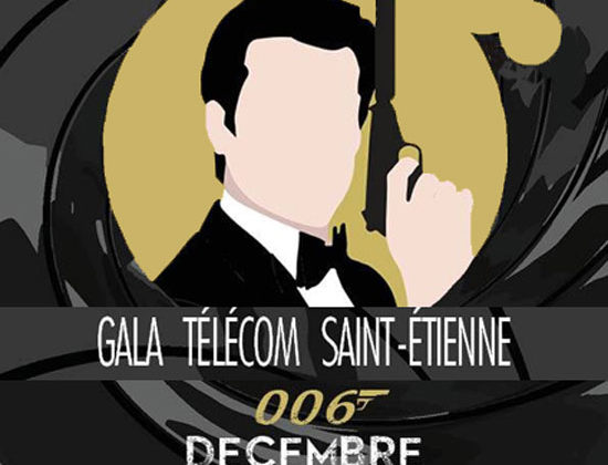 Gala 2019 de l'école d'ingénieurs Télécom St Etienne aux Foréziales