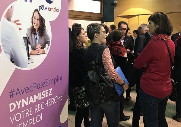 Pôle Emploi organise une réunion stratégique sur le thème du recrutement aux Foréziales centre de séminaires de Montrond-les-Bains dans la Loire